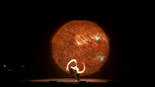 Beautiful dancer Irina Akulenko