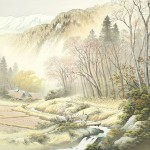 Nature painting by Japanese artist Koukei Kojima