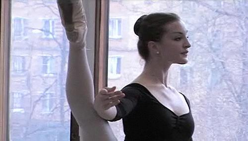 American ballerina Joy Womack