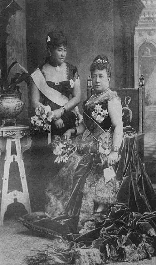 Kapiolani and Liliuokalani at Golden Jubilee