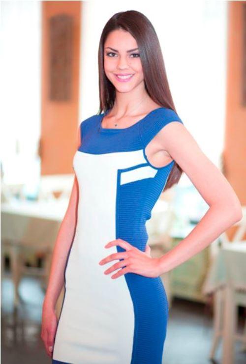 Beautiful Karina Zhironkina, Miss Ukraine 2012