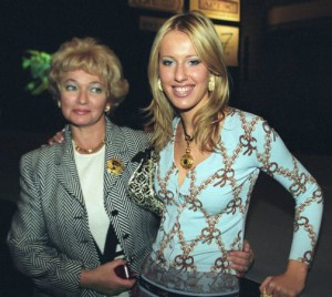Ksenia and her mother Lyudmila Naruseva