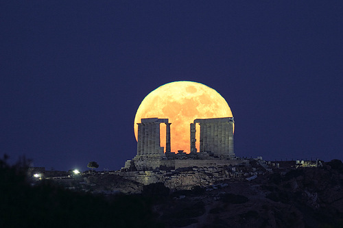 Night sky of Greece photography by Chris Kotsiopoulos