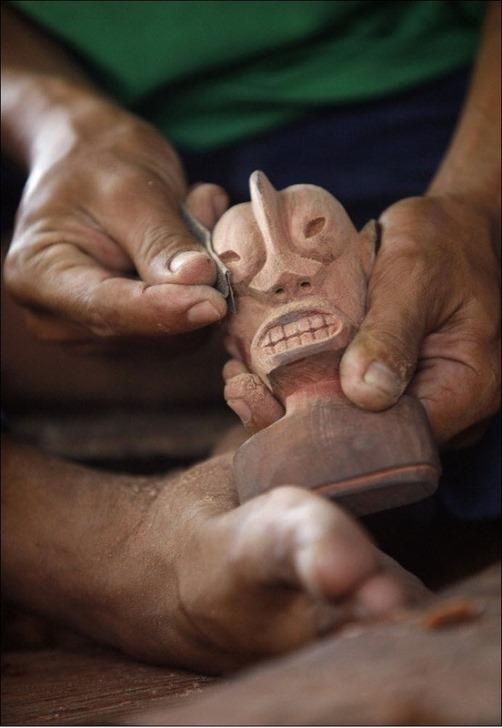 Craftsmen of Orang Asli