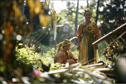 Women of Orang Asli ethnic group in Malaysia