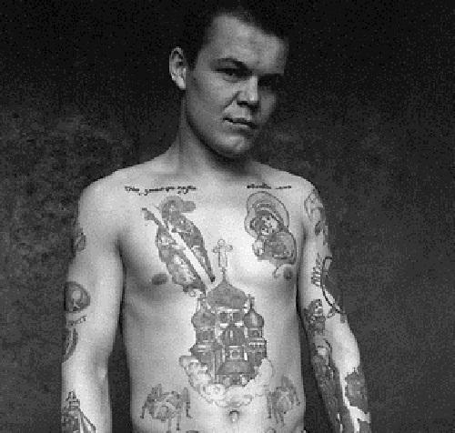 Orthodox religious tattoos