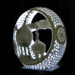 egg shell carving by Igor Rud