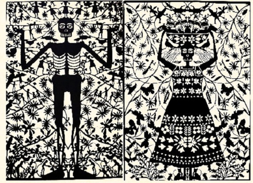 Papel picado work by Mexican self-taught artist Margarita Fick. Incredible papercutting art throught the world