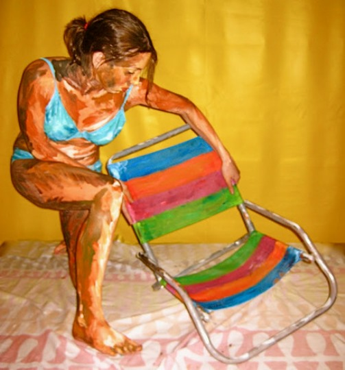 Body painting by Alexa Meade