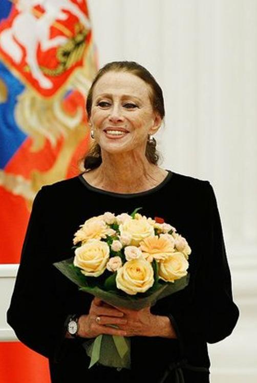 Plisetskaya in 2011, aged 87