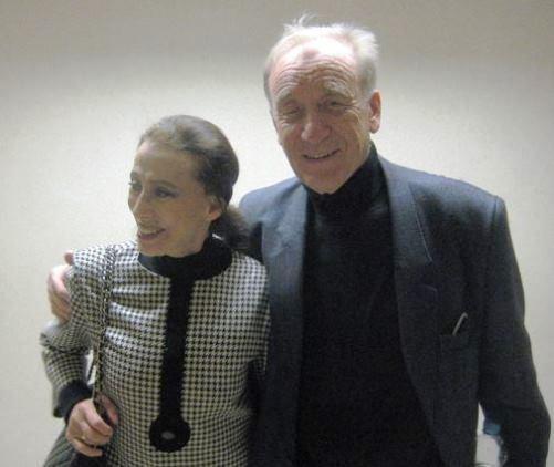 Plisetskaya with her husband, Rodion Shchedrin