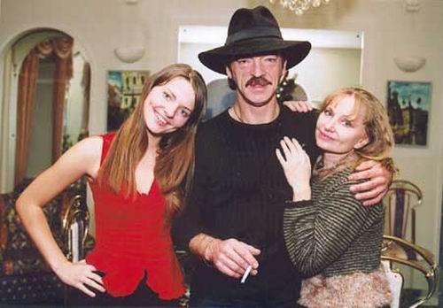 Russian actor Mikhail Boyarsky, Larissa Luppian, Elizaveta