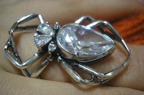 Scarab stunning brooch