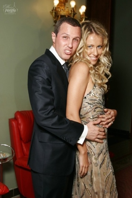 Sobchak and Russian actor Igor Vernik