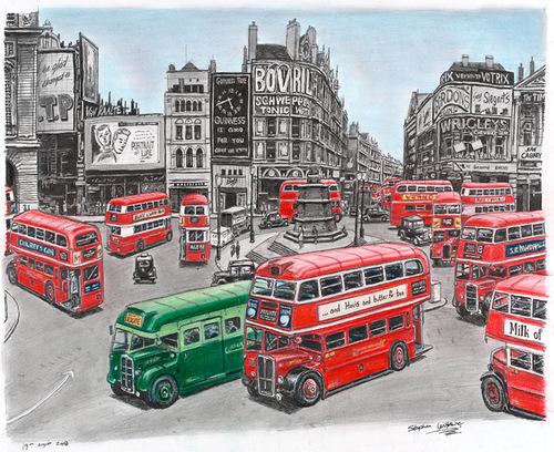 British autistic artist Stephen Wiltshire