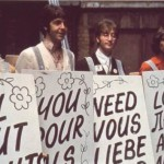 "The word ""Love"" in different languages. The Beatles"