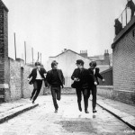 In Scene from A Hard Day's Night