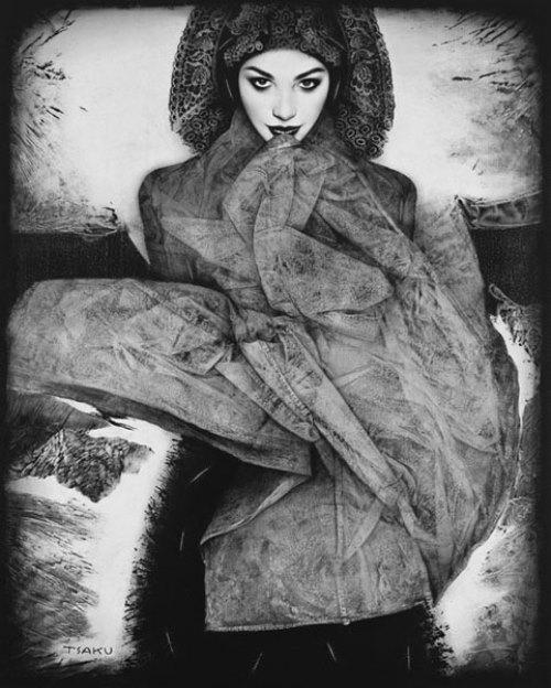 Hyperrealist painter Timur Tsaku