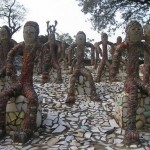 The Rock Garden of Chandigarh in India