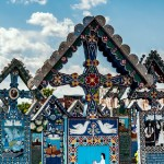 Merry Cemetery in Romania