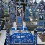 Merry Cemetery in Romania