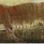 Tiger. Painting by Georgian artist Merab Abramishvili