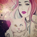 Tattooed girls in Glamorous Sketches by Brazilian artist Tati Ferrigno