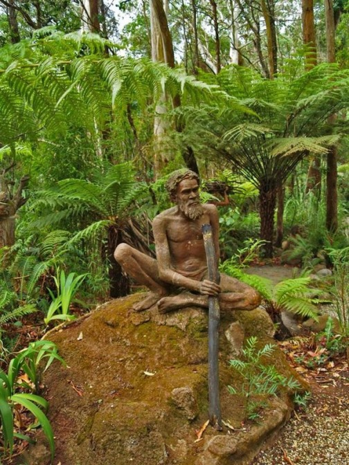 Sculpture Garden by Australia based artist Bruno Torfs