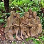 Sculpture Garden by artist Bruno Torfs