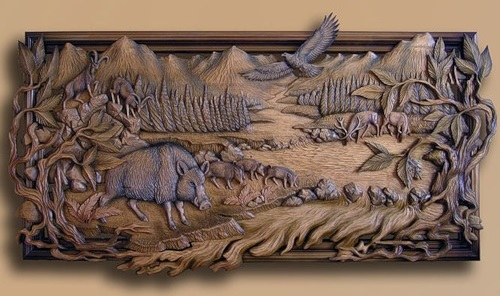Wood carving by Peter Nosikov