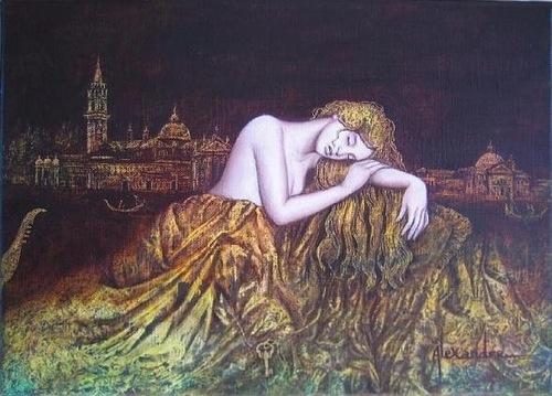 French artist Catherine Alexandre