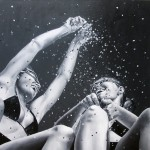 Hyperrealistic painting by Brazilian artist Marta Penter
