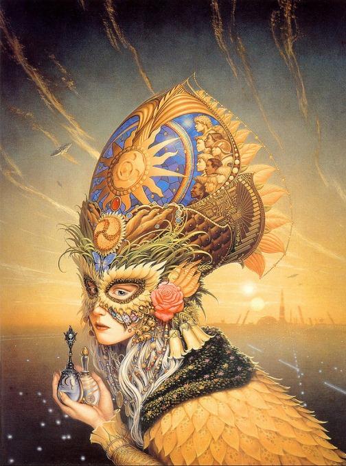 Fantasy cover art by Michael Whelan