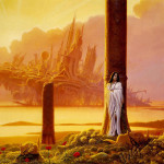Painting by American fantasy artist Michael Whelan