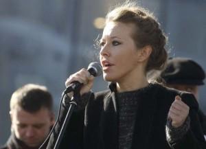 Ksenia Sobchak – beautiful politician