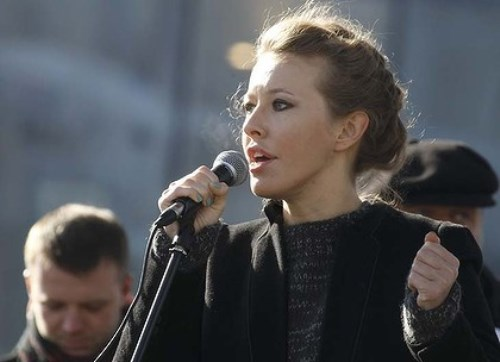 Ksenia Sobchak – beautiful politician