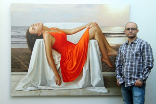 Hyperrealistic Painting by Mexican artist Omar Ortiz