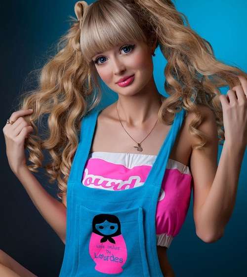 Real life Barbie girl from Kurgan, Russia