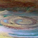 The Eye of the Earth – huge circular formation (50 km in diameter – 30 miles), that resembles an eye when looked upon from space
