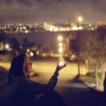 Night lights. love