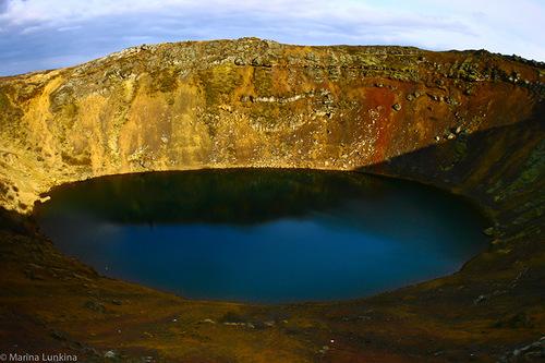 Beautiful landscape of the Þingvellir National Park