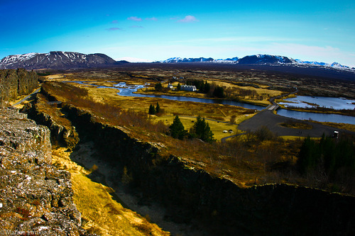 Tourist destination - Þingvellir National Park