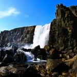 Landscape of the Þingvellir National Park (Thing Fields), Iceland. Photographer Marina Lunkina