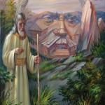 Taras Shevchenko. Painting by Oleg Shuplyak