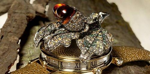 Jewelry time pieces by Andreas von Zadora-Gerlof