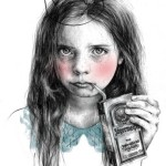 Drawings by young French artist Marynn