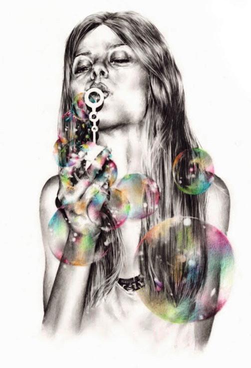 French fashion illustrator Marynn