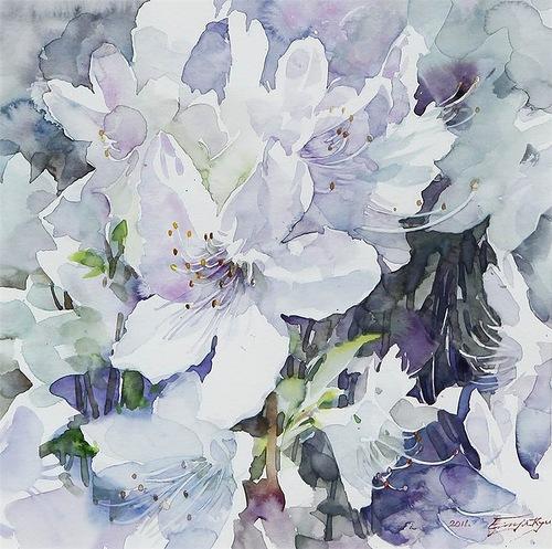 painting by Ryu Eunja