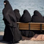 Islamic fashion – women in black