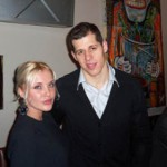 "Evgeni ""Geno"" Vladimirovich Malkin and his girlfriend, beautiful model Oksana Kondakova"